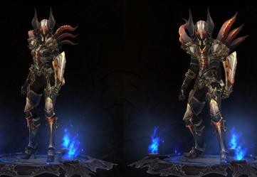 demon hunter Embodiment of the marauder set